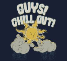 Guys, chill out! Kids Tee