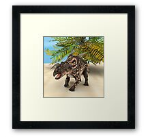 Dinosaur Einiosaurus Framed Print