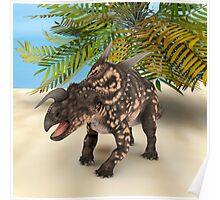 Dinosaur Einiosaurus Poster