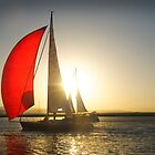 Red Sail by linaji