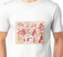 Chinese Astrology Animals Collage Unisex T-Shirt