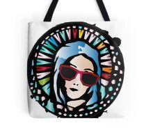 Church window-Mother Mary Tote Bag