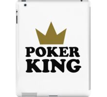 Poker king casino iPad Case/Skin