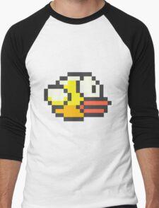 Flappy Bird Men's Baseball ¾ T-Shirt