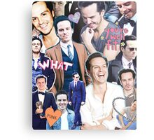 andrew scott collage Metal Print