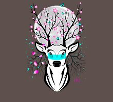 Roots To Grow and Wings To Fly (Cherry Blossom Deer) Unisex T-Shirt