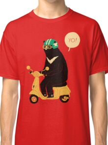 scooter bear Classic T-Shirt