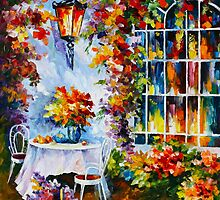 IN THE GARDEN by Leonid  Afremov