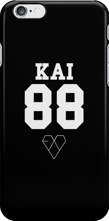EXO JERSEY (KAI) PHONE CASE by dakotaspine