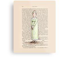 Jane Austen - Jane Bennet Metal Print