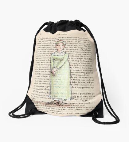 Jane Austen - Jane Bennet Drawstring Bag