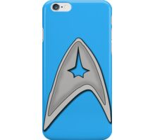 Star Trek Logo Blue Tech Case iPhone Case/Skin