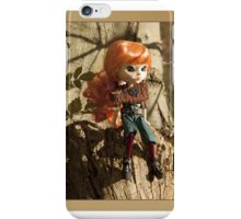 Sonia - girl with red hair iPhone Case/Skin