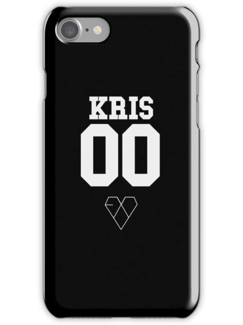 EXO JERSEY (KRIS) PHONE CASE by dakotaspine