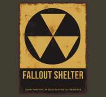 Fallout Shelter Sign by Rehdnehck