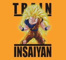 Train Insaiyan Super Saiyan 3 goku  by BadrHoussni