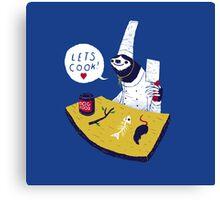 lets cook! Canvas Print