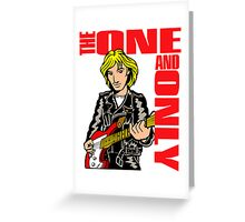 Chesney Hawkes The One And Only Greeting Card