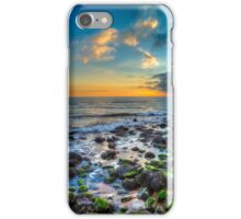 Sunset At Steephill Cove iPhone Case/Skin