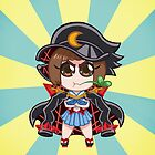 Chibi Fight Club Mako - Kill la Kill Case by PabloFiorentino