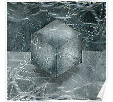 Aluminum Cube Natural Poster