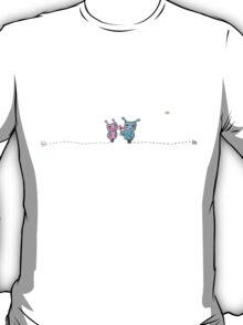 cute robot couple T-Shirt