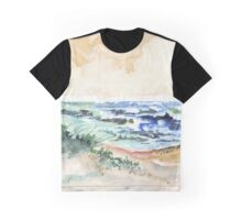 Towards the pebbled shore Graphic T-Shirt