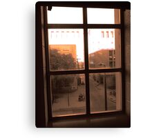 Window Dust Canvas Print