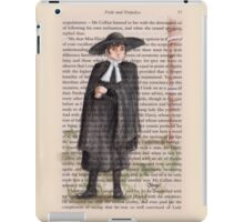 Jane Austen - Pride and Prejudice - Mr Collins iPad Case/Skin