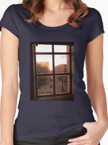 Window Dust Women's Fitted Scoop T-Shirt