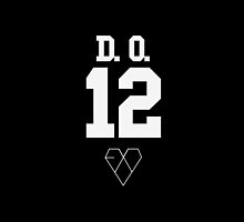 EXO JERSEY (D.O.) PHONE CASE by dakotaspine