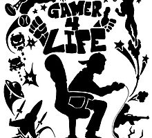 Gamer 4 Life by Skree