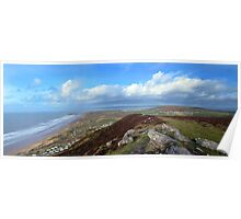 Llangenith View Poster