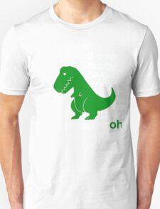 Funny dino shirt, funny t-shirt, dinosaur shirts,  clap your hands tee. T-Shirt