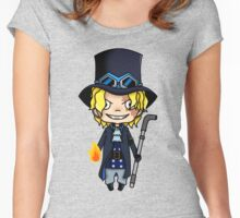 Sabo chibi Women's Fitted Scoop T-Shirt