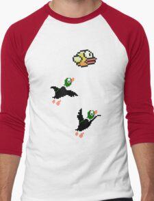 Flappy Hunt Men's Baseball ¾ T-Shirt