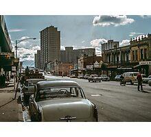 Lygon Street 1963 Photographic Print