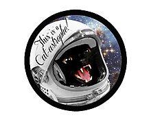 Cat-astrophe! Photographic Print
