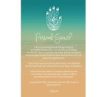 Affirmation - Personal Growth Photographic Print