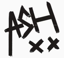 ASH XX T-Shirt/Sticker by dream--catch3r