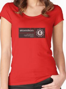 ATOMIKON Hot Rods & Motorcycles Women's Fitted Scoop T-Shirt