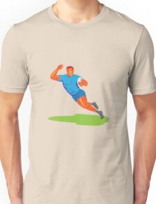 Rugby Player Running Ball WPA Unisex T-Shirt