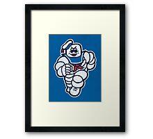 Marshmelin Man Framed Print