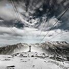 Téléphérique du Mont Blanc by Laurent Hunziker