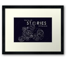 The Story of Gallifrey Framed Print