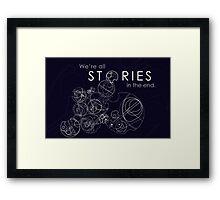 The Story of Gallifrey Framed Print