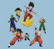 the z fighters Kids Clothes