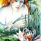 Angel and Lily by Anna Miarczynska