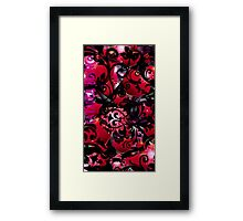 Catalea's Vintage Red Framed Print
