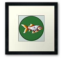 Goldfish Molly Hooper Framed Print